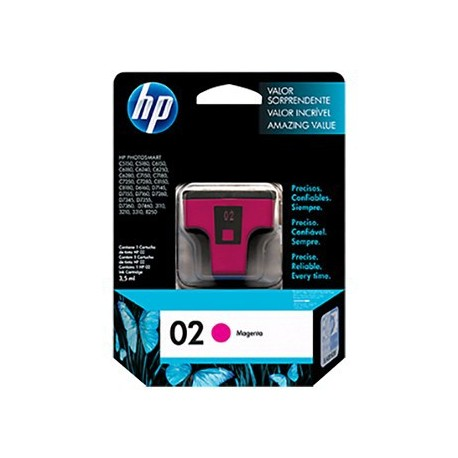 HP C8772 NO.02 Ink Cartridge Magneta