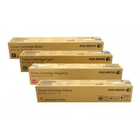 Fuji Xerox CT202249 Toner Cartridge Yellow