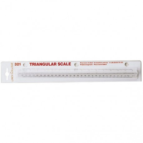 LINEX COLL-321 SCALE RULER 1:20 - 1:125