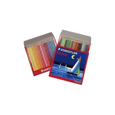 Staedtler 137C48 Luna Watercolor Pencils Set 48 Colors