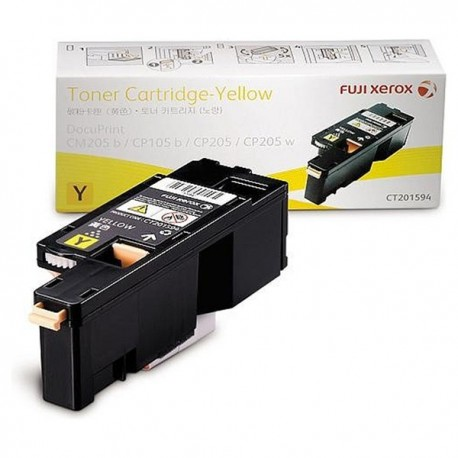Fuji Xerox CT201594 Toner Cartridge Yellow