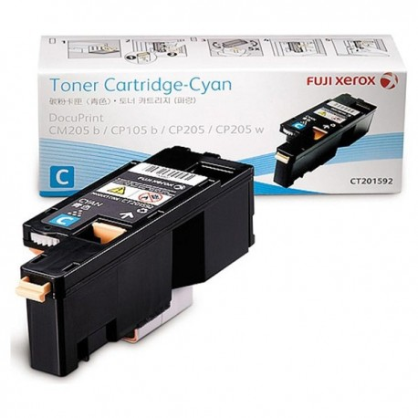 Fuji Xerox CT201592 Toner Cartridge Cyan
