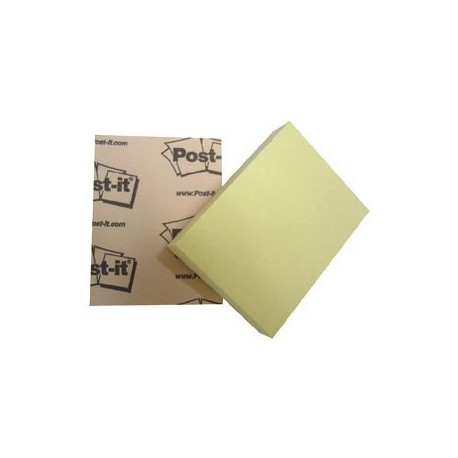 "3M Post-it 653 Note 1.5""x2"" Yellow"