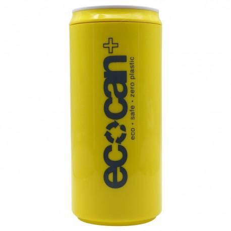 ECO Can Plus 黃色印有炭色字樣 450毫升