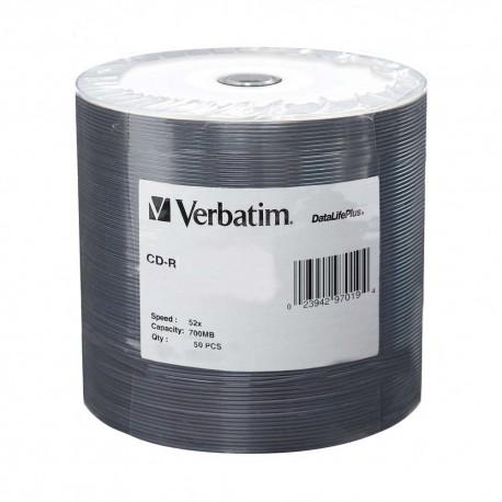威寶 CD-R 儲存光碟 700MB 52倍 50片 收縮膠裝