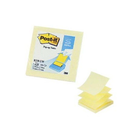 "3M Post-it R330-YW Pop-Up Note 3""x3"" Yellow"