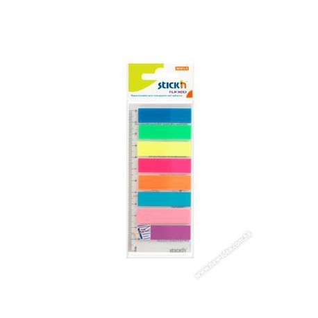 Stick-N 21345 Film Index 12mmx45mm 8Colors