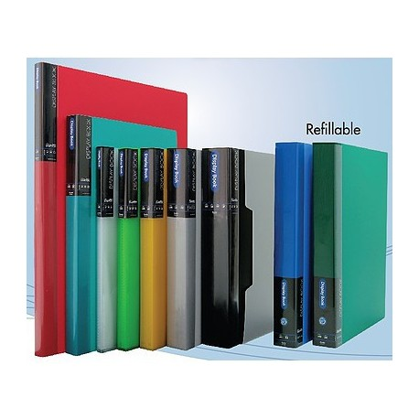Bantex 13143 Clear Book A4 20Pages Green