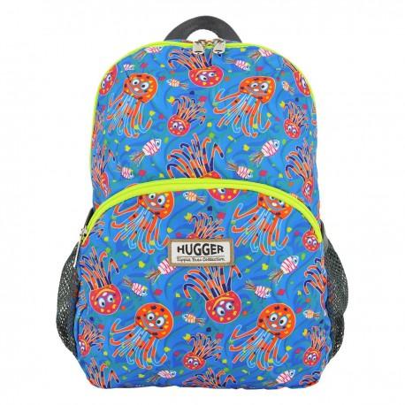 Hugger 小小旅行家 小童背包 Octopus Garden 中碼 22厘米闊x30厘米高x13厘米深