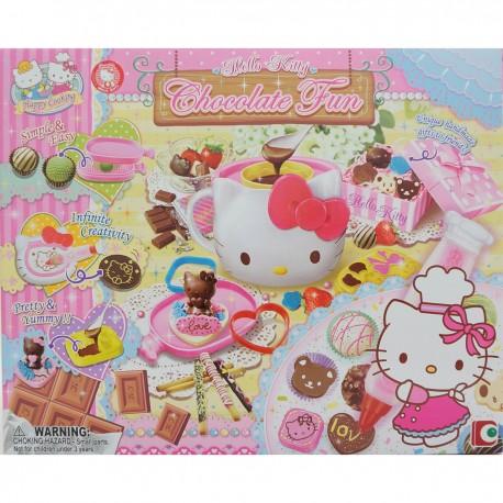 Hello Kitty 自製立體朱古力