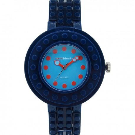 CIRCUS 海軍錶圈/藍色錶盤 深藍色