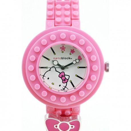 CIRCUS Hello Kitty 粉紅色錶圈/白色 Hello Kitty 錶盤
