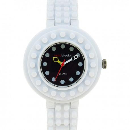 CIRCUS 白色錶圈/黑色錶盤