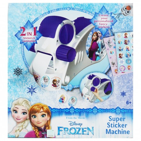 Frozen Super Sticker Machine