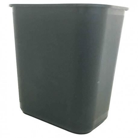 Rectangular Rubbish Bin Grey