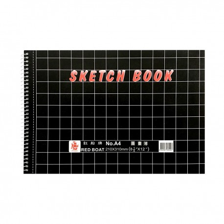 A4 Sketch Book Horizontal