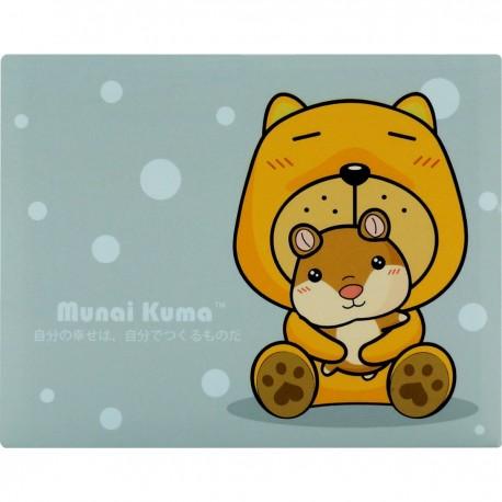 Munai Kuma With Chips Sticky Note 8cmLx6.5cmW
