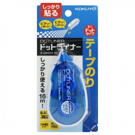 KOKUYO DM400-08 Tape Glue DOTLINER 8.4mmx16m Blue