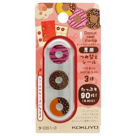 KOKUYO 打孔加強貼機 Donut圖案