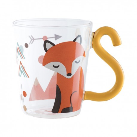 Animal Tail Cup Fox 10cmHxDia.8cm