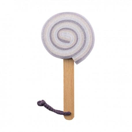 Sponge Lollipop 20cm Purple