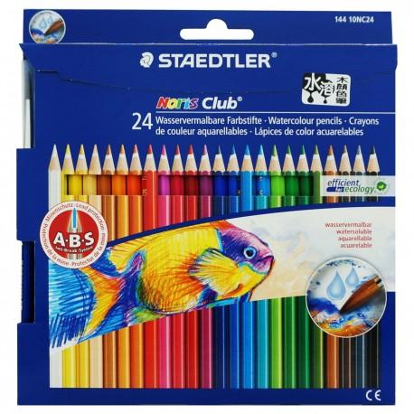 Staedtler Noris Club 144 Color Pencils 24-Color Paper Packing