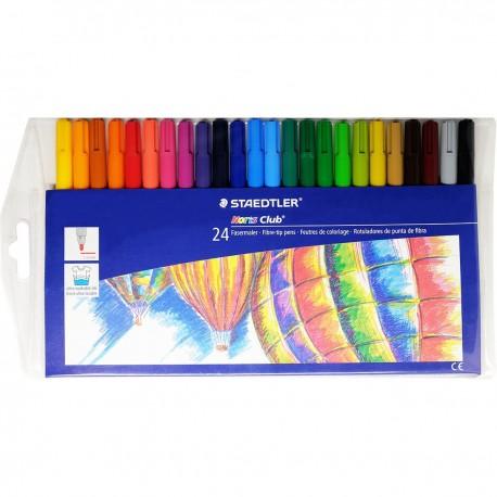 Staedtler Noris Club® 325 Watercolor Pens 24-Color