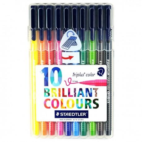 Staedtler triplus® Watercolor Pens 10-Color