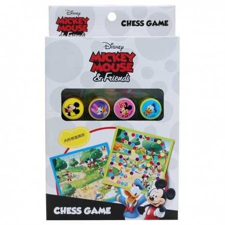 Mickey 2-in-1 Chess Game
