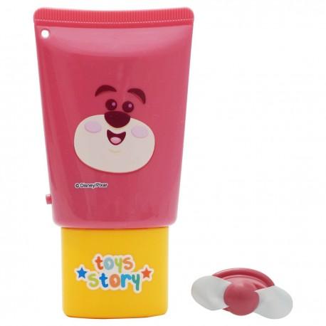 Toy Story Lotso Mini Fan 19.8cmHx9cmWx3.5cmD