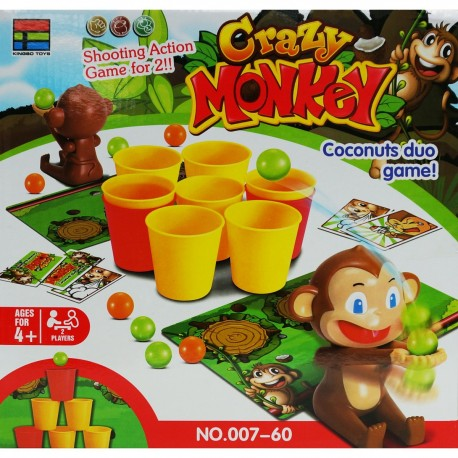 Crazy Monkey Game