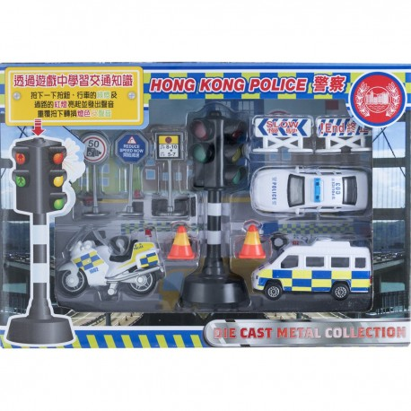 CAR Traffic Light Police Car