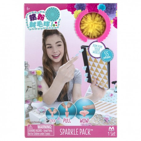 Fluff Ball Sparkle Pack 55pcs