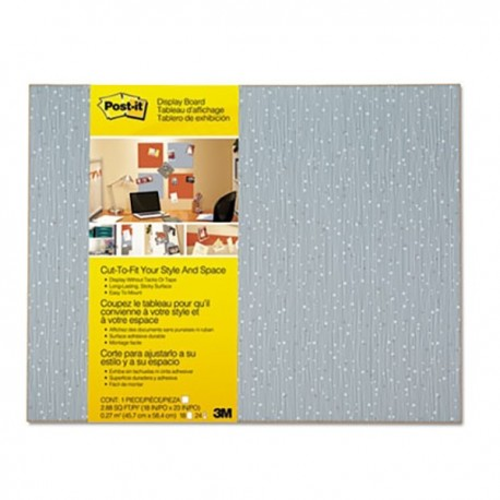 3M Post-it 558-F Self-Stick Memo Board Iced Blue