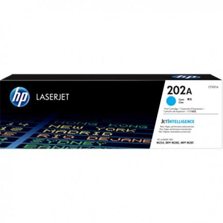 HP CF501A 202A Cyan LaserJet Toner Cartridge
