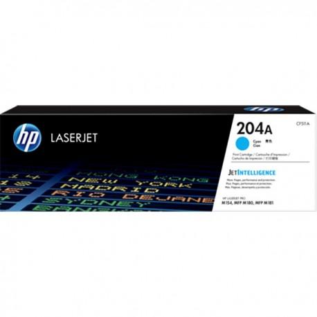 HP CF511A 204A Cyan LaserJet Toner Cartridge