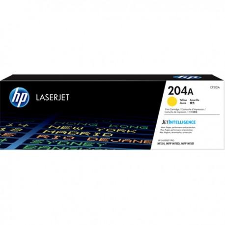 HP CF512A 204A Yellow LaserJet Toner Cartridge