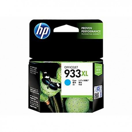 HP CN054AA 933XL Cyan Officejet Ink Cartridge
