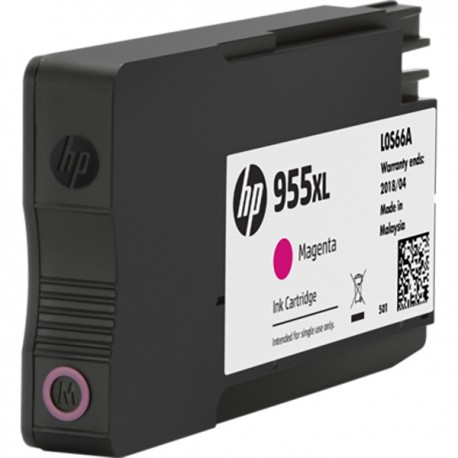 HP L0S66AA 955XL Magenta Original Ink Cartridge