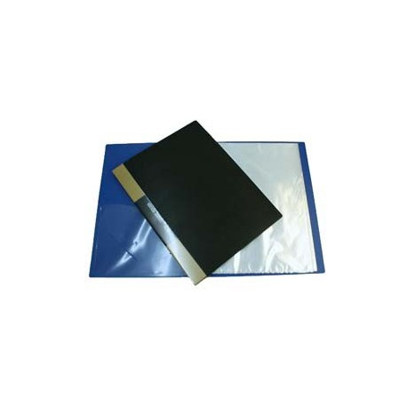 Database NC-A3-20 Clear Holder A3 20Pages Black/Blue/Grey