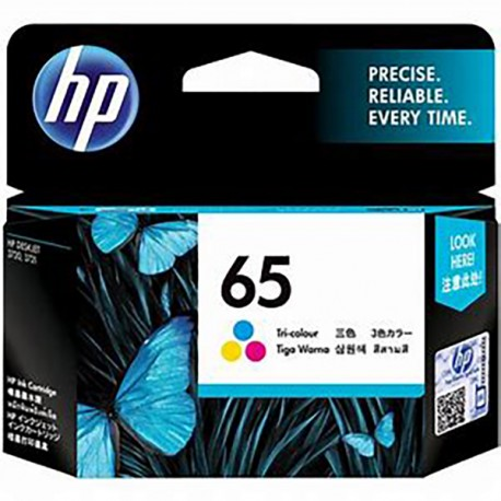 HP N9K01AA 65 Tri-color Original Ink Cartridge