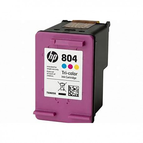 HP T6N09AA 804 Tri-color Original Ink Cartridge