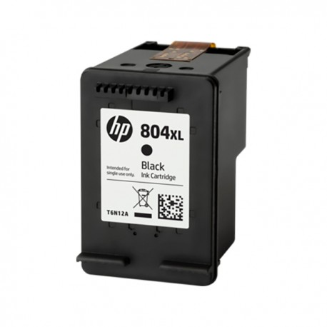HP T6N12AA 804XL High Yield Black Original Ink Cartridge