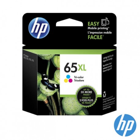HP N9K03AA 65XL Tri-color Original Ink Cartridge