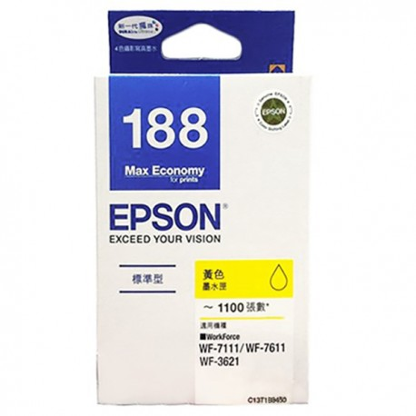 Epson C13T188483 油墨盒 黃色