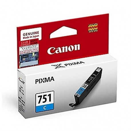 Canon CLI-751C Ink Cartridge Cyan