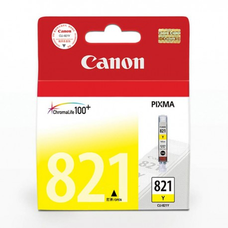 Canon CLI-821Y Ink Cartridge Yellow