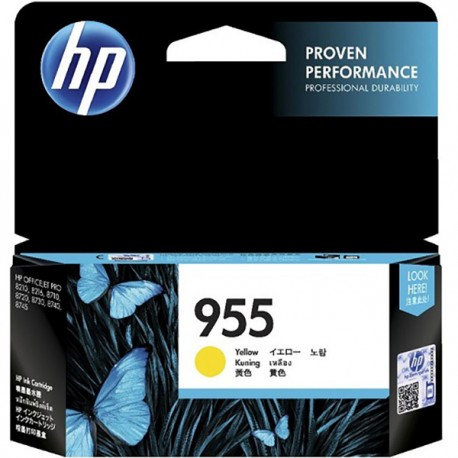 HP L0S57AA 955 Yellow Original Ink Cartridge