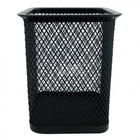 M & G ABT-98402 Square Mesh Metal Pen Holder