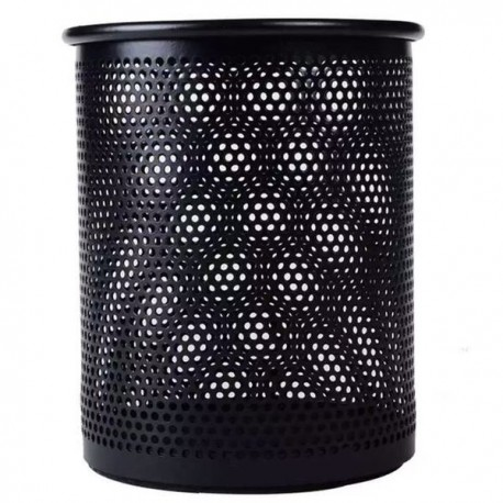 M & G ABT-98403 Round Mesh Metal Pen Holder